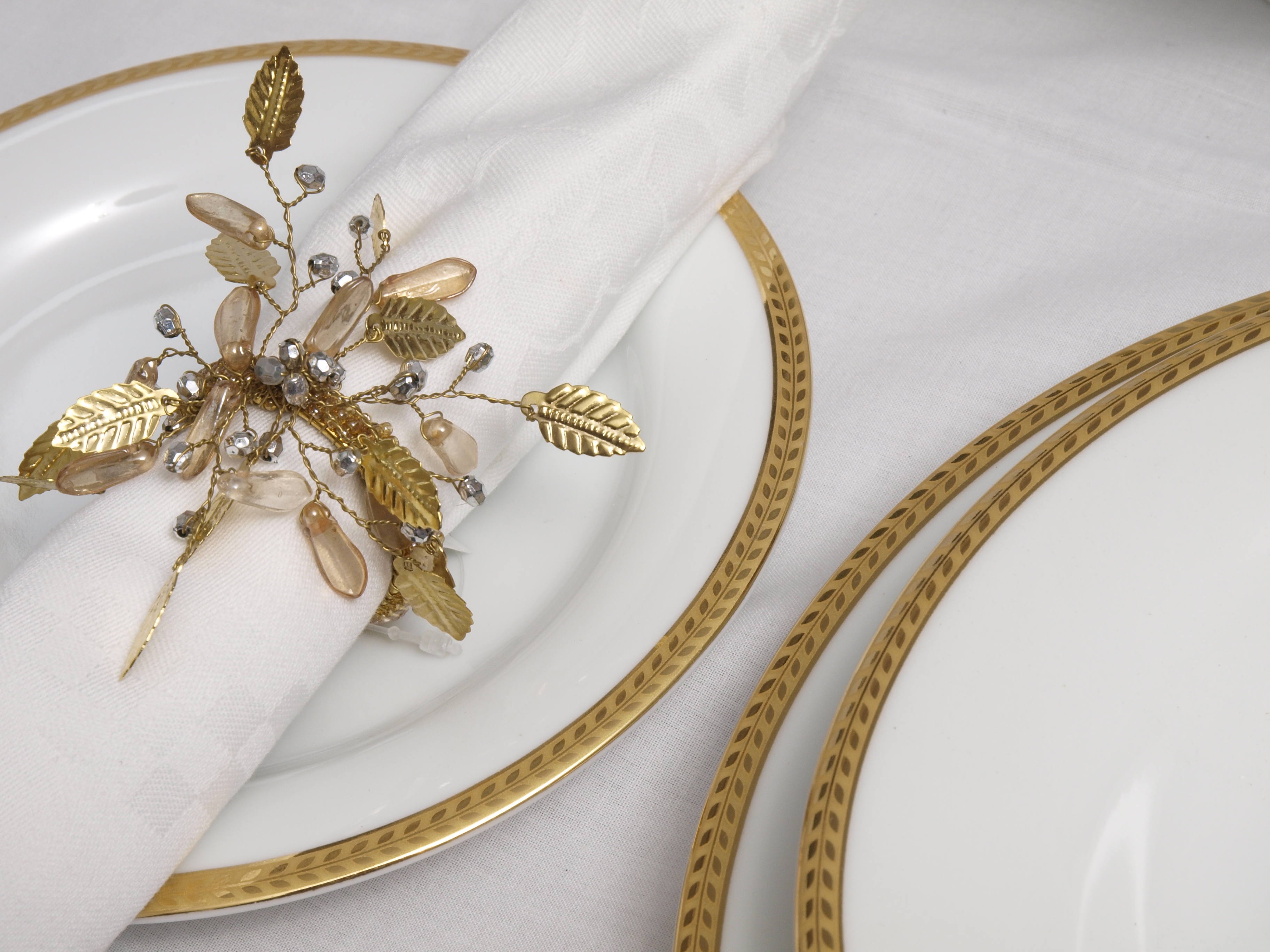 ETERNITY CLASSIC GOLD 56 PIECE DINNER SERVICE